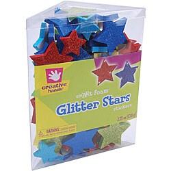 Creative Hands Stars smART Foam Glitter Stickers