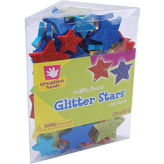 Creative Hands Stars smART Foam Glitter Stickers