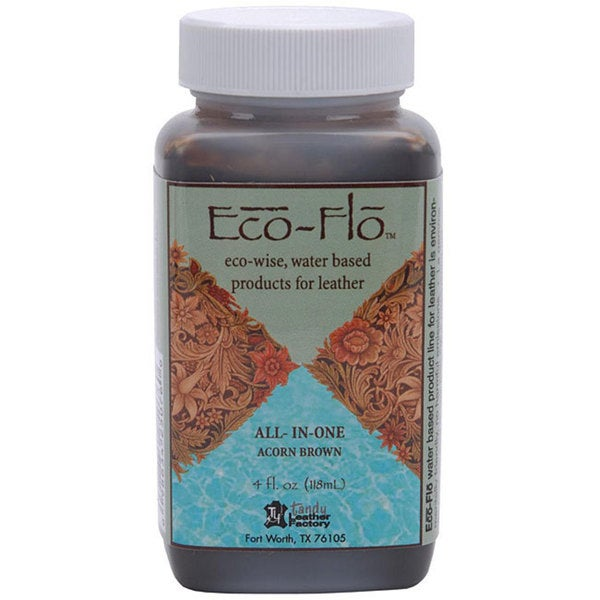 Eco-Flo All-in-One 4-oz Acorn Brown Stain and Finish