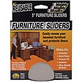 Mighty Movers Reusable 5-inch Furniture Sliders (Pack of 4)