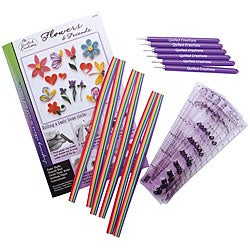 Quilled Creations 'Flowers and Friends' Quilling Class Pack Kit
