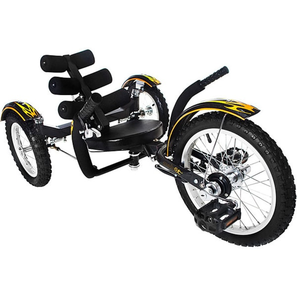 Mobo Mobito The Ultimate Youth Three Wheeled Black Cruiser
