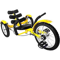 Mobo Mobito Ultimate 3-wheeled Yellow Cruiser