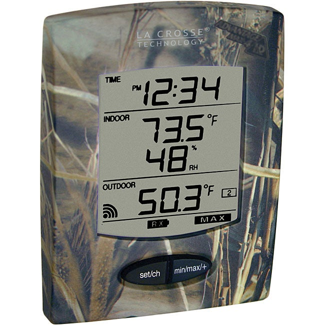 La Crosse Technology WS-9029U-IT-CAMO Wireless Weather Station
