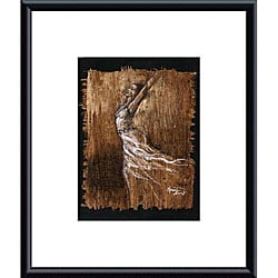 Monica Stewart 'Graceful Motion IV' Metal Framed Art Print