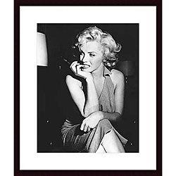 Photo 'Marilyn Monroe, 1952' Wood Framed Print