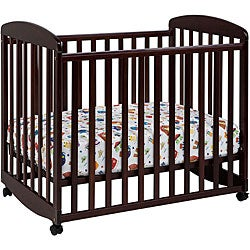 Davinci Alpha Mini Rocking Crib In Cherry