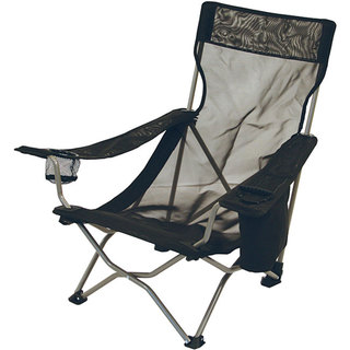 ALPS Mountaineering Black Mesh Getaway Chair