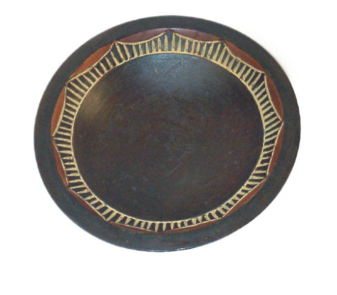 Decorative African Fruit Bowl (Ghana)