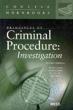 Principles of Criminal Procedure: Investigation (Paperback)