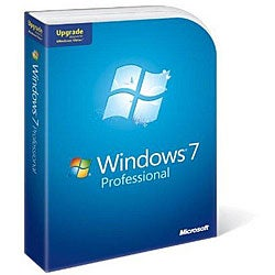 Microsoft Windows 7 Professional Upgrade from Windows XP or Vista