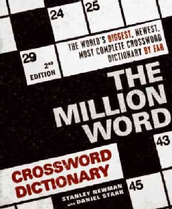 The Million Word Crossword Dictionary (Paperback)