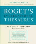 Roget's International Thesaurus (Hardcover)