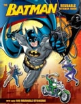 The Batman Reusable Sticker Book (Paperback)
