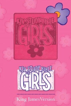 KJV Study Bible for Girls: KJV Study Bible for Girls, Duravella/Pink Imitation Leather, Red Letter Edition (Paperback)