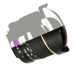 Rokinon 8mm F3.5 Ultra Wide Aspherical Fisheye Lens for Canon EOS
