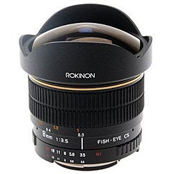 Rokinon 8mm F3.5 Ultra Wide Aspherical Fisheye Lens for Sony Alpha