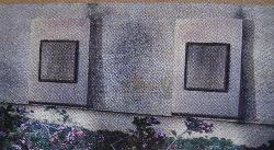Stainless Steel Solar Landscape Wall-mount Lights (Set of 6)