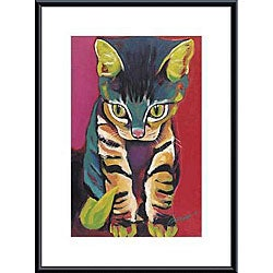 Ron Burns 'Squirt' Metal Framed Art Print