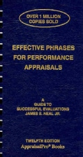 Effective Phrases for Performance Appraisals: A Guide to Successful Evaluations (Paperback)