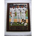 Yankee Power Legends of Baseball Plaque