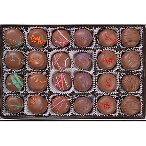 Bidwell Candies 1/2-pound Chocolate Candy Truffles Box