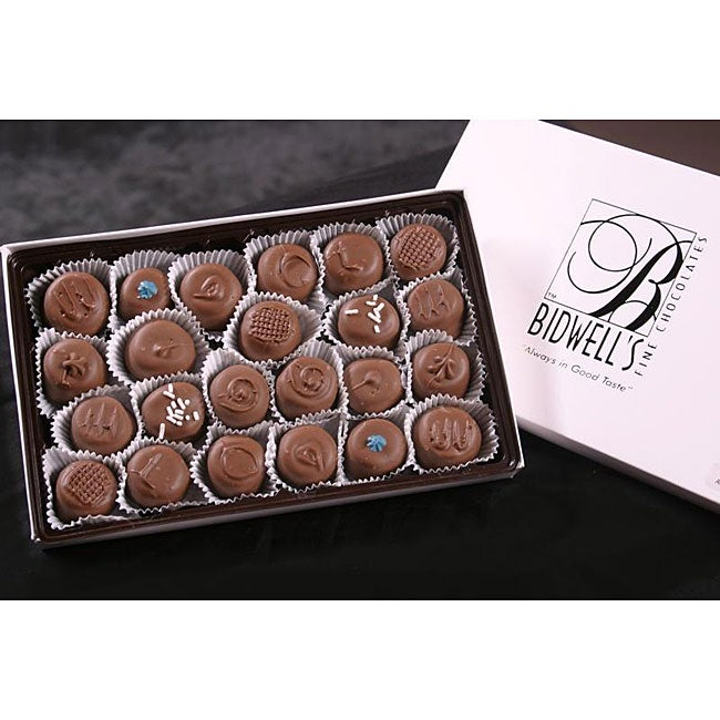 Bidwell Candies 1-pound Cream-filled Chocolates Gift Box
