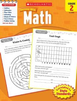 Scholastic Success With Math, Grade 2 (Paperback)