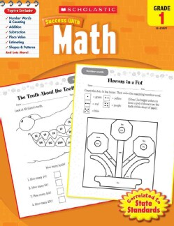 Scholastic Success With Math, Grade 1 (Paperback)