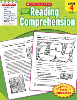 Scholastic Success With Reading Comprehension, Grade 4 (Paperback)