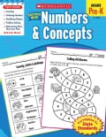 Scholastic Success With Numbers & Concepts: Grade Pre-k (Paperback)