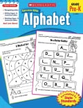 Scholastic Success With Alphabet: Grade Pre-K (Paperback)