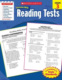 Scholastic Success With Reading Tests, Grade 3 (Paperback)