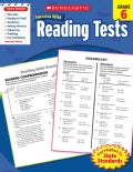 Scholastic Success With Reading Tests, Grade 6 (Paperback)