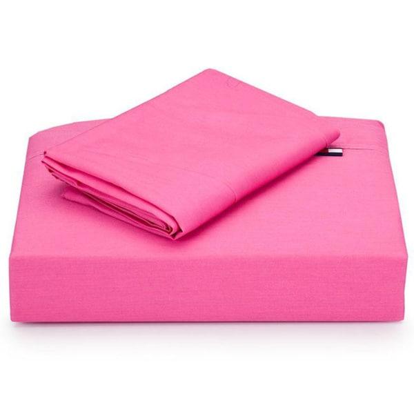 Tommy Hilfiger Petal Pink 3-piece Sheet Set (Twin/Twin-XL)