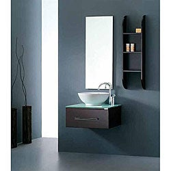Virtu USA Primo 24-inch Single Sink Bathroom Vanity Set