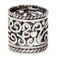 Sterling Silver 'Floral Rapture' Ring (Indonesia)