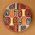 Ceramic 'Inca Weavings' Plate (Peru)