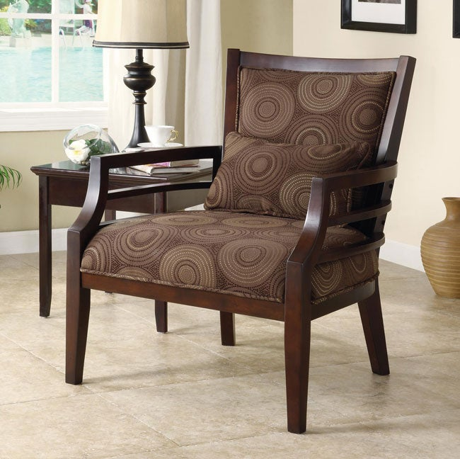 philly framed chair chocolate seat living room furniture