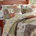 Blooming Prairie King-size 3-piece Bedspread Set