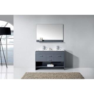 Gloria 48-in Double Sink Bathroom Vanity