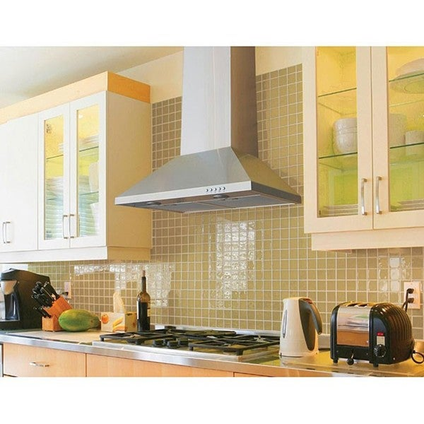 Wall-mounted 30-inch Range Hood