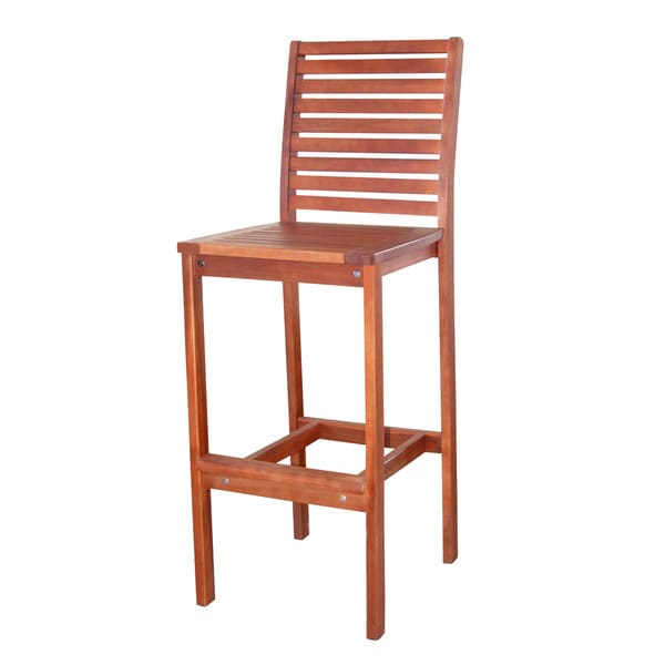 Dartmoor Plantation-grown Teak Wood Bar Chair