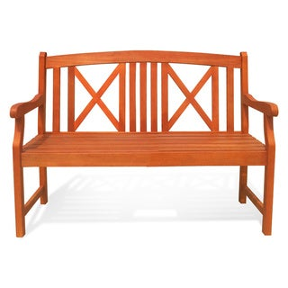 Eucalyptus 2-seater Bench
