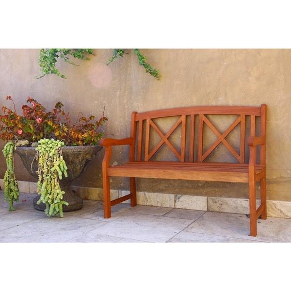 Eucalyptus 2-seater Bench