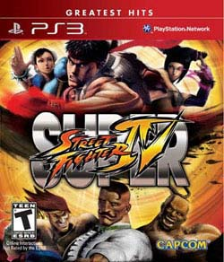 PS3 - Super Street Fighter IV