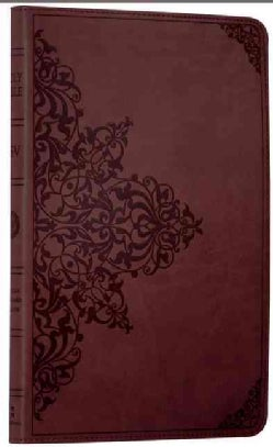 Holy Bible: English Standard Version, Chestnut, Trutone, Filigree Design, Value Thinline Bible (Paperback)