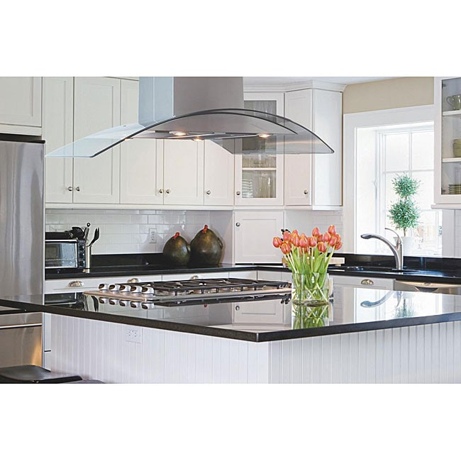 Ikea Kitchen Quartz Countertops Reviews: Modern 42-inch Three-mode Island Range Hood