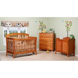 DaVinci Rivington 4-in-1 Crib with Toddler Rail in Oak