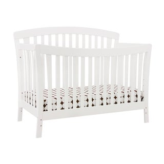 DaVinci Rivington 4-in-1 Crib with Toddler Rail in Pure White